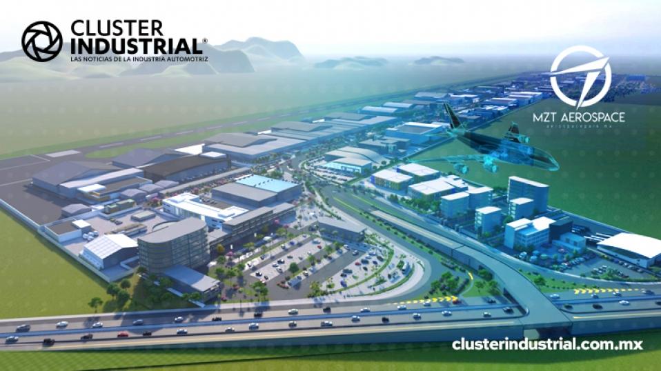 Cluster Industrial – Ya empezó la construcción de MZT Aerospace Park en  Sinaloa